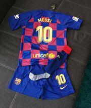 Barcelona Trikot Set Kinder Messi