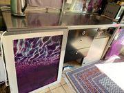 Flexible Küchenzeile zum Abbauen und