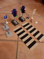 Playmobil Ampeln und Verkehrsschilder