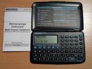 Organizer Datenbank Rolodex Electronics mehrsprachig