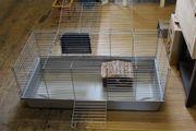 Großer Nagerkäfig Kleintierkäfig mit Haus