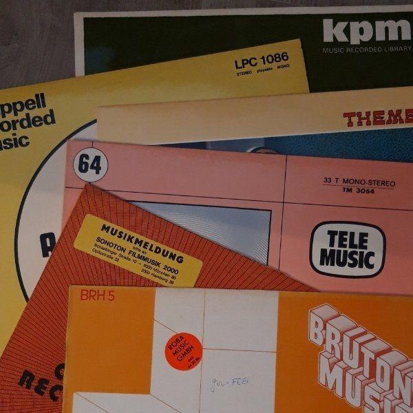 Suche Schallplatten mit Hintergrundmusik bzw
