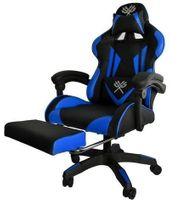 Gamer Stuhl mit Beinlehne neu