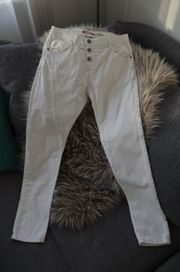 PLEASE Jeans weiß