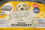 Aufblasbares Hundebett von Romeo gr