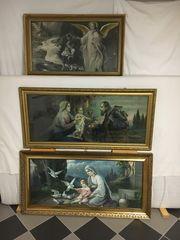 Gottes-und Engelmalerei und weitere Bilder