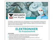 Elektroniker für Prozesstechnik m w