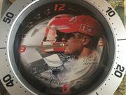Wanduhr Formula 1