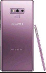 Samsung Note 9 mit Restgarantie