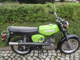 Mofas, 50er Kleinkrafträder - Simson S51 ENDURO 4Gang 60Km