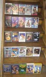 VHS Kassetten Sammlung im Auftrag