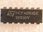 NAND Schmitt Trigger HCF 4093BE