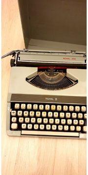 Schreibmaschine Schreib Maschine Royal 200