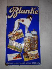 Altes Original Blanke Schokolade Breslau