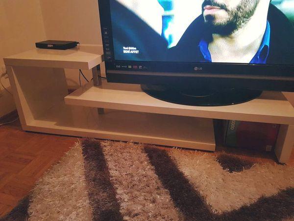 Tv Tisch weiß hochglanz