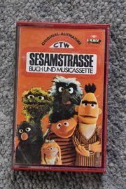 Rarität Original Sesamstraße Musik-Kassette 1973
