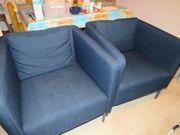 Sessel EKERÖ in dunkelblau IKEA