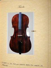 Italian cello c1850 COA - Violoncello