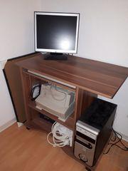Schreibtisch Kern Nussbaum Nachbildung