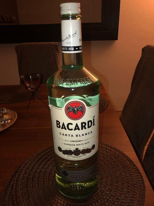 Bacardi und Three Sixty 3Liter