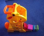 Fisher Price Peeka Blocks Giraffe