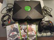Xbox Classic Konsole mit Zubehör