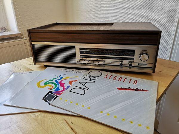 Vintage Retro Musikanlage GRUNDIG mit