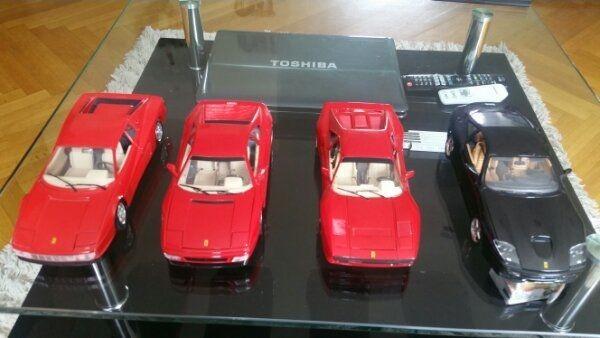 Bburago Ferrari Set
