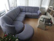 Couch über Eck mit Variositz