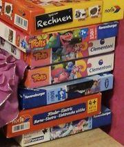 verschiedene Gesellschaftsspiele puzzle