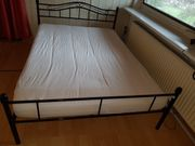 Bett 200 x140 plus Matratze