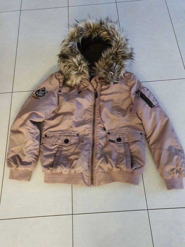 Khujo Jacke rosa Größe XL