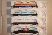 TT Güter Containerwagen neu Personenwagen