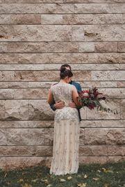 Vintage Brautkleid Hochzeitskleid Gatsby 20er