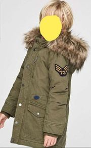 PEPE Winterparka in army warm