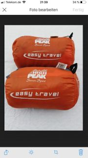 Schlafsack easy Travel high Peak