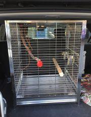 Papageienkäfig Reise aus Edelstahl