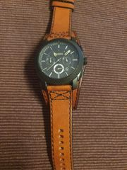 Fossil Herren-Armbanduhr Dress Chronograph Quarz