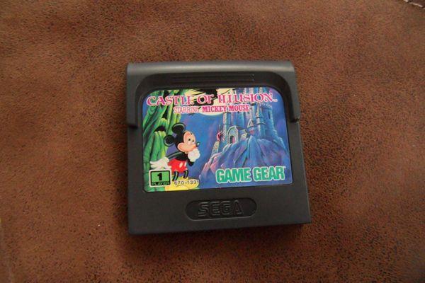 Spiel für Sega Game Gear