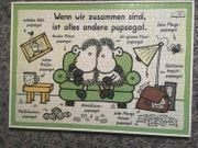 2x Puzzle Sheep World Wenn