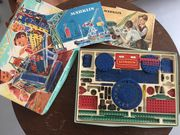Vintage Tolles Lernspielzeug 2 Metallbaukästen