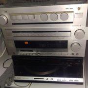 Kennwood Stereoanlage mit philips Plattenspieler