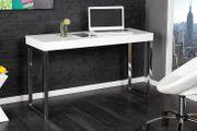 Laptoptisch White Desk 120x40cm weiss