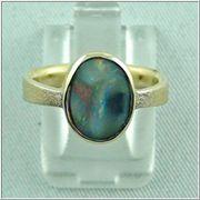 Eleganter Opalring aus 18k 750er