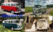 Hochzeitsauto Oldtimer Volkswagen bus Mieten