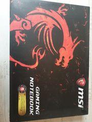 msi gaming laptop GL 72
