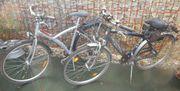 2 Alu Fahräder gebraucht - 28 Zoll