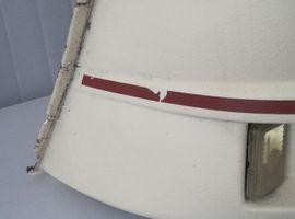 Zubehör und Teile - Tabbert Seitenteil für Gaskastendeckel gebraucht