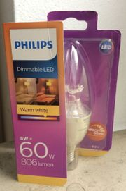 Philips LED WarmGlow Lampe