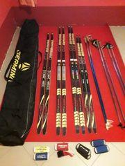Skier Freistil klassisch